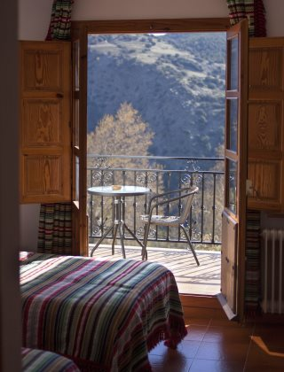 Hotel Rural Los Berchules - Balcony from bedroom